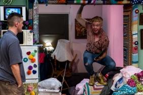 Harvey Zielinski Belinda McClory Hir Taylor Mac Red Stitch Actors Theatre Daniel Clarke transgender trans transman LGBTIQA queer actor