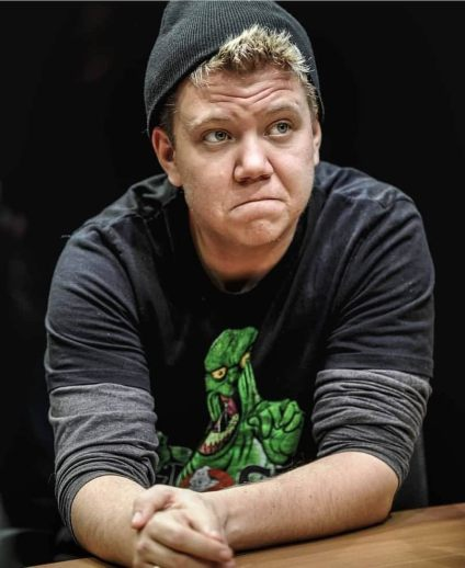 Harvey Zielinski as Josh in The Antipodes by Annie Baker at Red Stitch Actors' Theatre directed by Ella Caldwell photo by Jodie Hutchinson