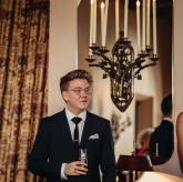 Harvey Zielinski as a top ten finalist at the 2018 Heath Ledger Scholarship announcement ceremony, at the Chateau Marmont in Los Angeles. Photos by Mac1photo - Court McAllister.