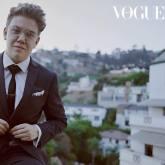 Queer LGBTIQA transgender transman Harvey Zielinski actor Vogue Heath Ledger Scholarship finalist top ten 2018 Jake Terrey Chateau Marmont actor