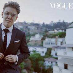 Harvey Zielinski photographed for Vogue Australia by Jake Terrey, write-up by Sophie Tedmanson. Taken at the Chateau Marmont, LA when Harvey was one of the 2018 top ten Heath Ledger Scholarship finalists.