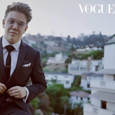Queer LGBTIQA transgender transman Harvey Zielinski actor Vogue Heath Ledger Scholarship finalist top ten 2018